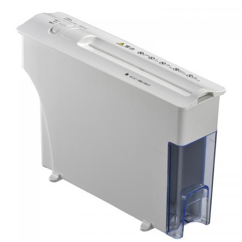 【送料無料】静音卓上シュレッダー A4サイズ2枚 OHM SHR-SD02 00-5112