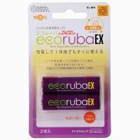 充電式電池 エコルーバEX 単3形×2本入 BT-JUTG3H 2P 07-6318