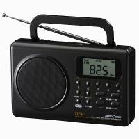【送料無料】AudioComm ポータブルDSPラジオ ワイドFM 補完放送対応RAD-F630Z 07-7763