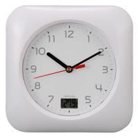 お風呂用クロック&温度計 HB-T10 HB-T10-W 08-0046 OHM