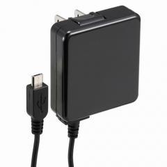 オーム電機 AudioComm AC充電器 ブラック SMP-JAC1510-K 01-7037 OHM
