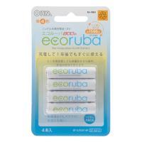 充電式電池 エコルーバ 単4形×4本入 BT-JUTG41 4P 07-6312