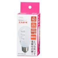 エコなボール 電球形蛍光灯 一般電球形 E26 40形相当 電球色 EFA10EL/8N OHM 04-1496
