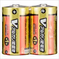 単1形 Vアルカリ乾電池 2本入 LR20/S2P/V 07-9937