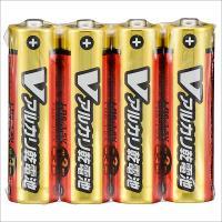 単3形 Vアルカリ乾電池 4本入 LR6/S4P/V 07-9943