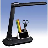 送料無料 LED調光式デスクライト ブラック DS-LD32AH-K 07-8520 OHM