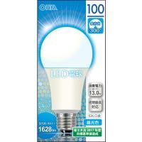 LED電球 一般電球形 E26 100形相当 昼光色 13W 1628lm 全方向 134mm OHM 密閉器具対応 LDA13D-G AG9 06-0159