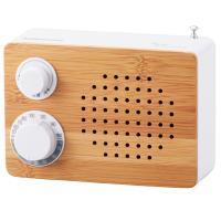 AudioComm オーム電機 竹ラジオ RAD-T180N 07-8688