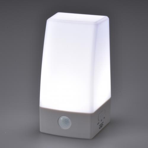 LED人感センサーライト_NIT-BLA6JS-WN 06-0132