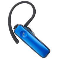 AudioComm Bluetoothワイヤレスシングルイヤホン イヤホンマイク ヘッドセット スマホ対応 ブルー HST-W50N-A 03-1149