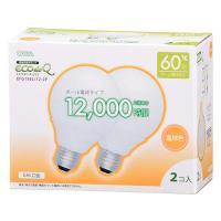 【20個セット】送料無料 エコデンキュウ 電球形蛍光灯 ボール球 E26 60形相当 電球色 EFG15EL/12 OHM st-0263