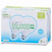 【20個セット】送料無料 エコデンキュウ 電球形蛍光灯 ボール球 E26 100形相当 昼光色 EFG25ED/20N OHM st-0268