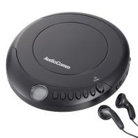 【送料無料】AudioComm ポータブルCDプレーヤー ブラック CDP-280N-K 07-8883