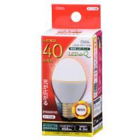 LED電球 ミニクリプトン形 E17 40形相当 4W 電球色 広配光200° 密閉器具/断熱材施工器具対応 LDA4L-G-E17 IH9 06-0763