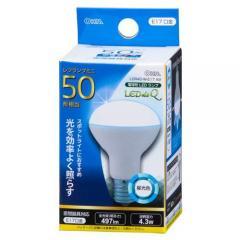 LED電球 レフランプミニ形 E17 50形相当 4W 昼光色 広角タイプ150° LDR4D-W-E17 A9 06-0770 OHM オーム電機