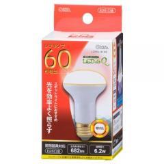 LED電球 レフランプ形 E26 60形相当 6W 電球色 広角タイプ160° LDR6L-W A9 06-0771 OHM オーム電機