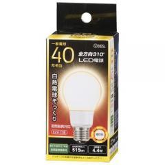 LED電球 E26 40形相当 全方向 密閉器具対応 電球色_LDA4L-G AG92 06-1934