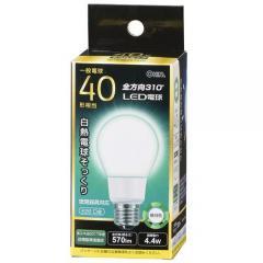 LED電球 E26 40形相当 全方向 密閉器具対応 昼白色_LDA4N-G AG92 06-1935
