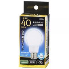 LED電球 E26 40形相当 全方向 密閉器具対応 昼光色_LDA4D-G AG92 06-1936