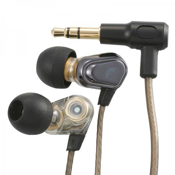 AudioComm ステレオインナーホン ブラック_HP-B165N-K 03-2261