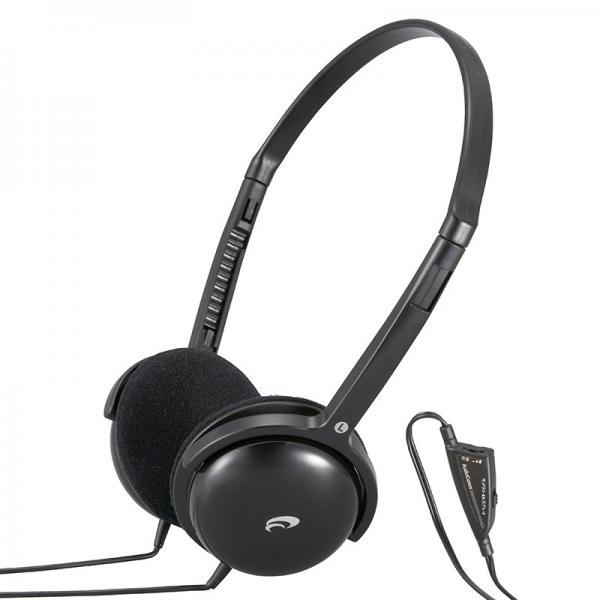 AudioComm テレビ用ステレオヘッドホン_HP-H355N 03-2807