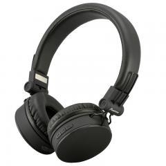 AudioComm ワイヤレスヘッドホン ブラック_HP-W300N-K 03-2862
