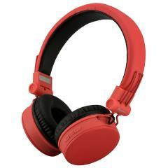 AudioComm ワイヤレスヘッドホン レッド_HP-W300N-R 03-2863