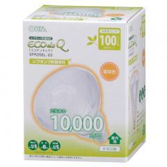 電球形蛍光灯 E26 レフランプ形 100形相当 電球色 エコデンキュウ_EFR25EL/22 04-3270