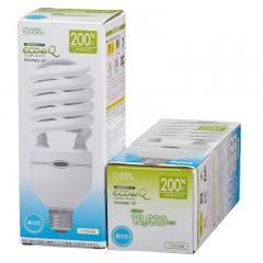 電球形蛍光灯 E26 200形相当 昼光色 エコデンキュウ_EFD40ED-SP 06-0116