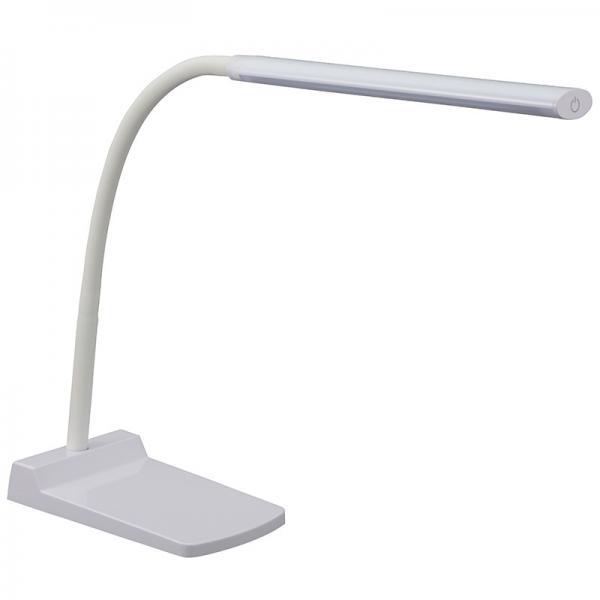 LEDデスクランプ ホワイト_DS-LS24-W 06-3725