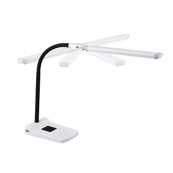 LEDデスクランプ USBポート付_DS-LS36-W 07-8617