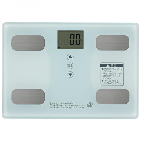 体重体組成計 ホワイト_HB-KG11R1-W 08-0491 【5%OFFクーポン利用可能】【コード:5R3MHHH】