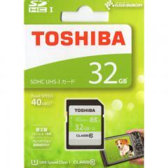 東芝 SDHCカード 40MB/s 32GB SDAR40N32G 11-0085