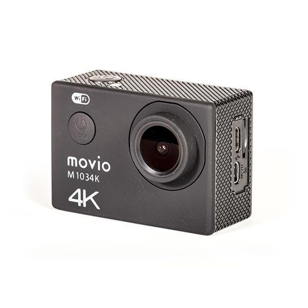 movio UltraHDアクションカメラ WiFi機能搭載 高画質4K_M1034K 13-3317