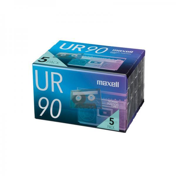 マクセル maxell カセットテープ UR 90分 5本パック|85401100 17-5162