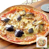 手作り なすびとひき肉のピザ【グルメMP_GP】