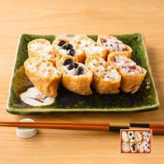 (食品 惣菜 料理 冷凍食品)京の極上いなり寿司食べ比べセット(50g×4種)8個