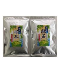 深蒸し緑茶ティーバッグ5g×30P 2本セット