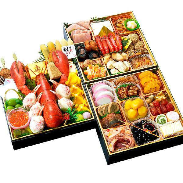 おせち 2020 小樽きたいち 海鮮おせち「秀峰」 全46品 4人~5人前 海鮮 おせち料理 お節 お節料理 送料無料