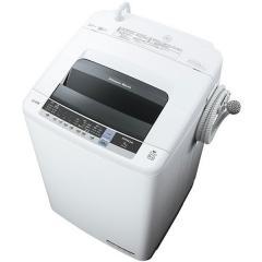 """""""日立 NW-80C(W) ピュアホワイト 白い約束 [簡易乾燥機能付洗濯機(8kg)]"""""""