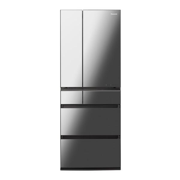 PANASONIC NR-F605WPX-X オニキスミラー [冷蔵庫(600L・フレンチドア)] 新生活