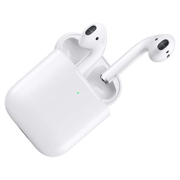 APPLE MRXJ2J/A AirPods(エアポッド) with Wireless Charging Case [ワイヤレスイヤホン(Bluetooth接続・マイク付)]