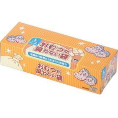 クリロン化成 おむつが臭わない袋 BOS 大人用箱型 Lサイズ 90枚 [ゴミ袋]