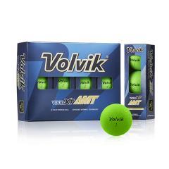 【日本正規品】 VOLVIK(ボルビック) ゴルフボール VIVID(ビビッド) XT AMT 1ダース(12個入り) グリーン