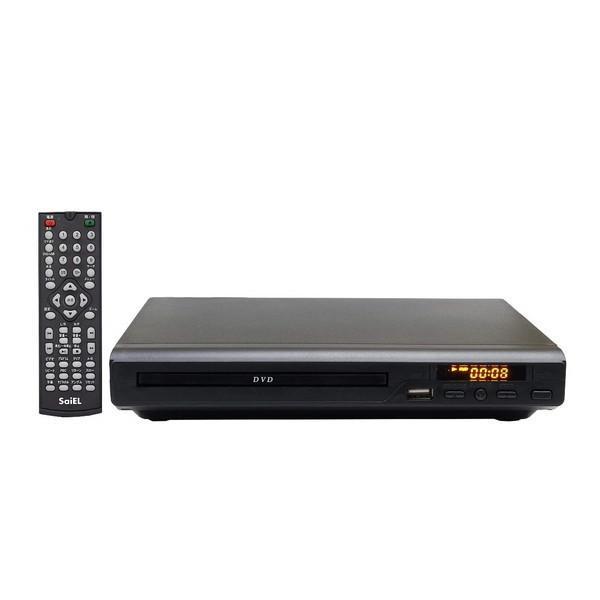 【5%OFFクーポン利用可能】【コード:5R3MHHH】Saiel SLI-HDVD01 [DVDプレーヤー(HDMI端子付き)]