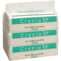 クレシア クレシアEF ハンドタオル ソフトタイプ200 ×3個パック
