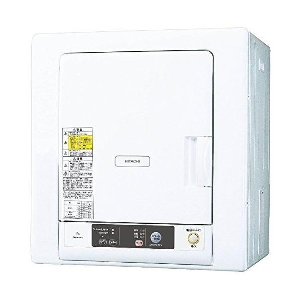 日立 DE-N40WX(W) ピュアホワイト [衣類乾燥機 (4kg)]