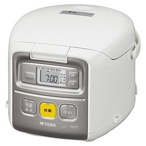 TIGER JAI-R551 ホワイト 炊きたて ミニ [マイコン炊飯器  (3合炊き)] 新生活