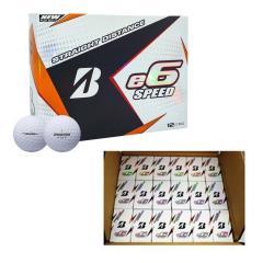 ブリヂストンゴルフ e6 SPEED ゴルフボール US仕様 72球セット(2球入り×36箱)