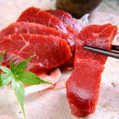 お中元 馬刺し 熊本 上赤身 500g 約50g×10パック 約10人前 馬肉 馬刺 肉 食べ物 ギフト おつまみ